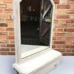 Edwardian Painted Oak Toilet Mirror  SOLD- Ref:1243