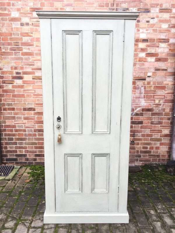 Mid Victorian Painted Pine Linen Cupboard SOLD- Ref:1248