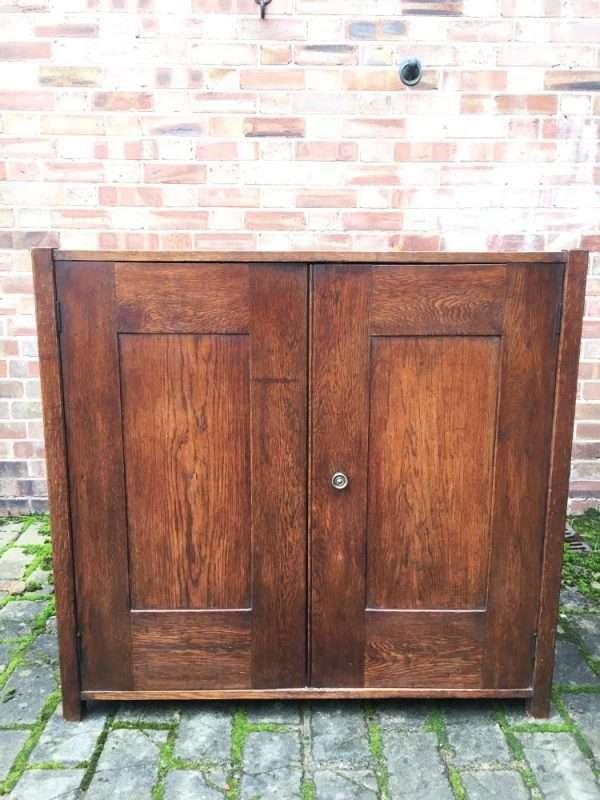 1930's Oak 2 Door Cupboard SOLD- Ref:1249