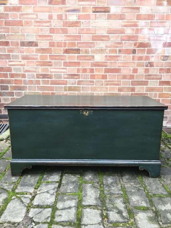Regency Painted Pine Box Coffer  SOLD- Ref:1247