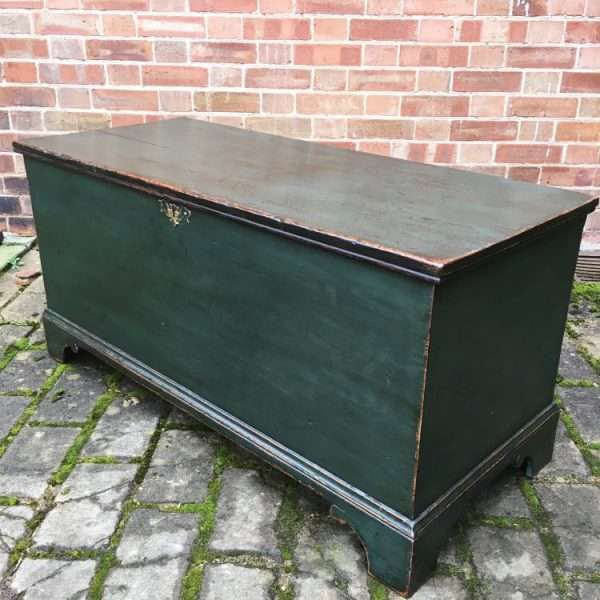 Regency Painted Pine Box Coffer1