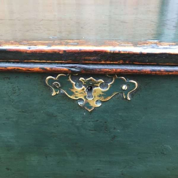 Regency Painted Pine Box Coffer