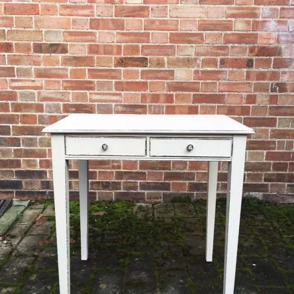 Victorian Painted Mahogany Side Table3