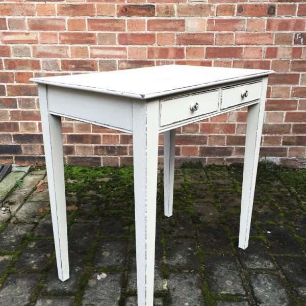 Victorian Painted Mahogany Side Table2