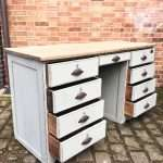 Late Victorian Painted Oak Desk SOLD- Ref:1250