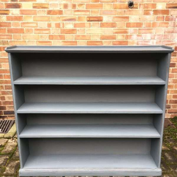Late Victorian Painted Pine Bookshelves3