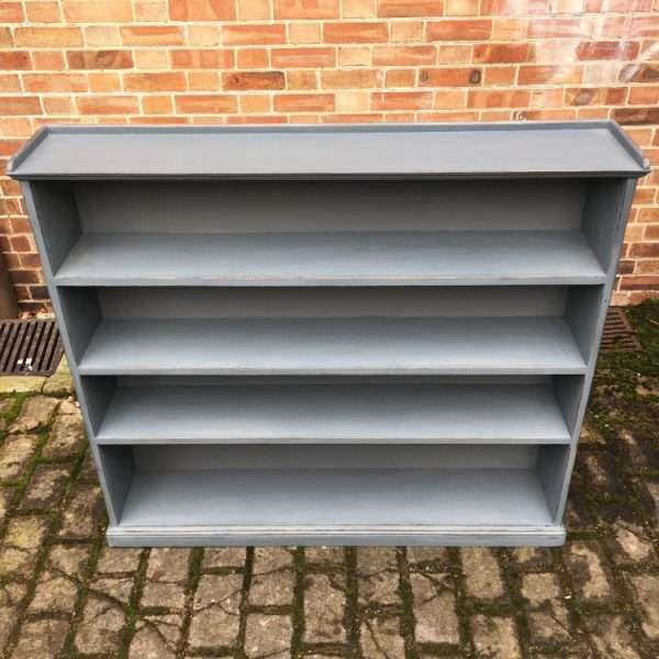 Late Victorian Painted Pine Bookshelves2