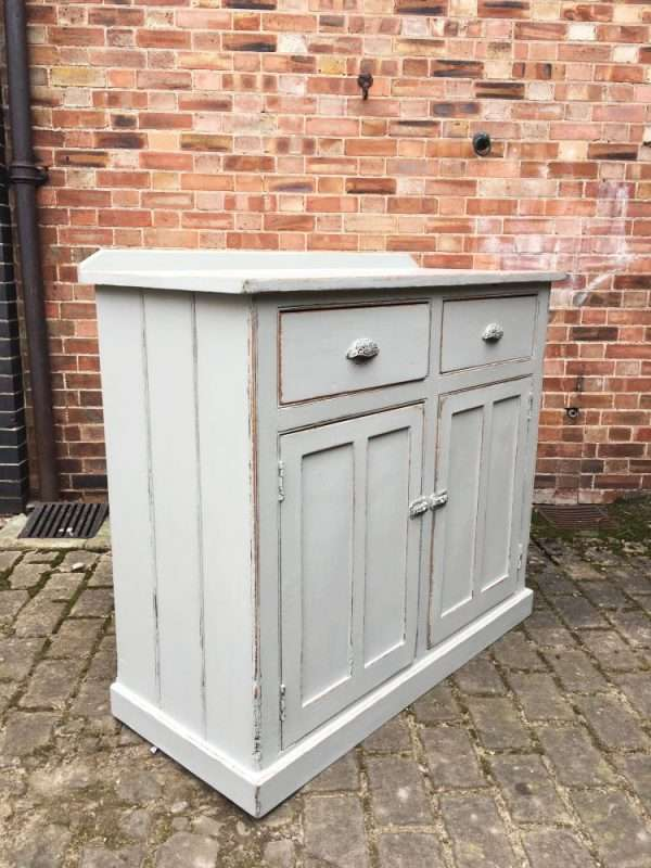 Mid Victorian Painted Pine Utility Cupboard SOLD- Ref:1258