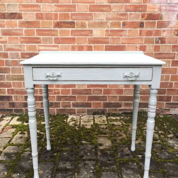 Edwardian Painted Ash Side Table4