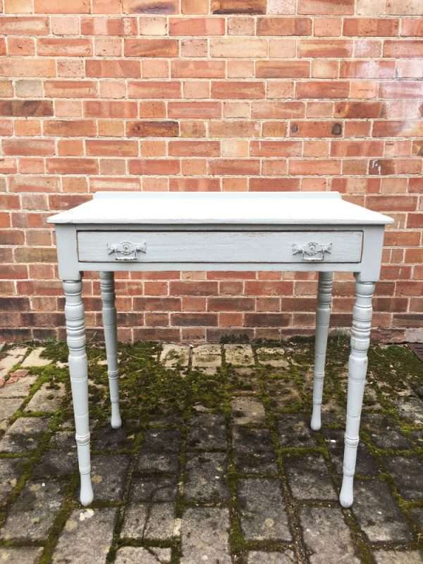 Edwardian Painted Ash Side Table SOLD- Ref:1262