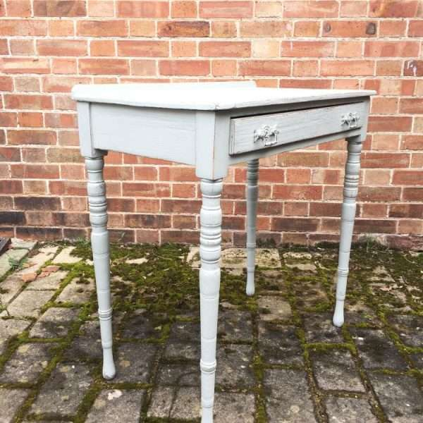 Edwardian Painted Ash Side Table