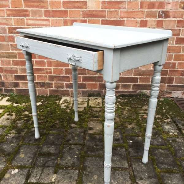 Edwardian Painted Ash Side Table1