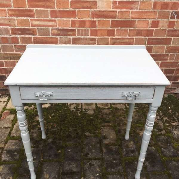 Edwardian Painted Ash Side Table2