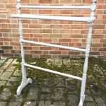 Mid Victorian Painted Pine Towel Rail-SOLD Ref:1261