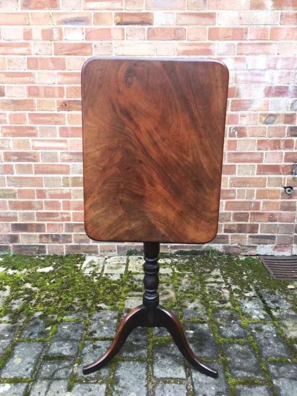 William IV Mahogany Tripod Table -SOLD Ref:1260