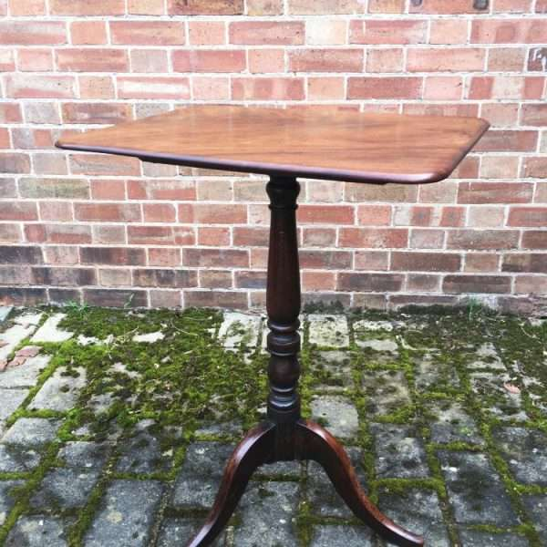 William IV Mahogany Flip Top Tripod2