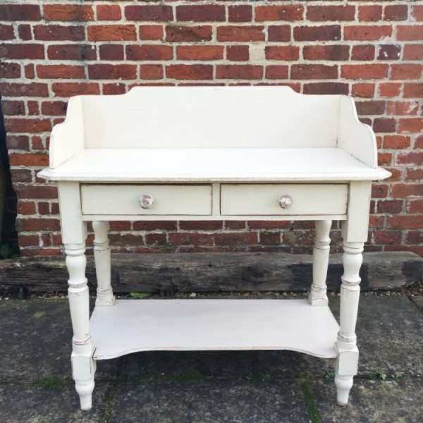 Mid Victorian Painted Pine Washstand 3