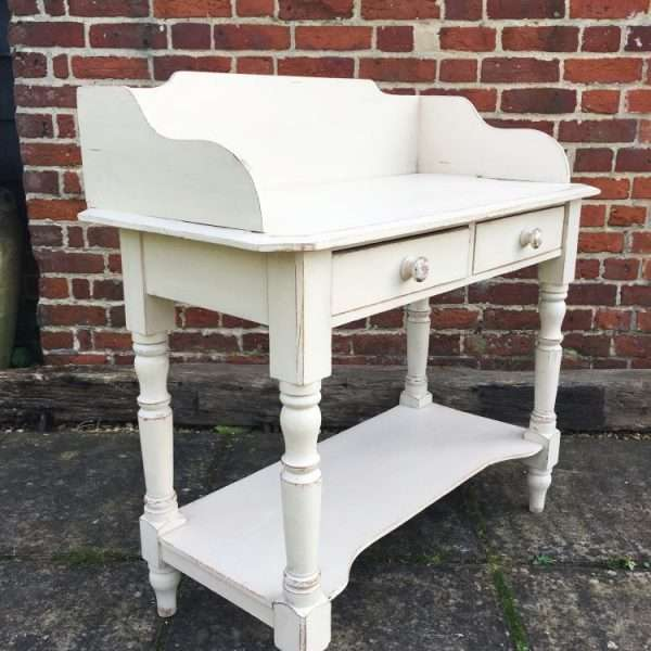 Mid Victorian Painted Pine Washstand 2