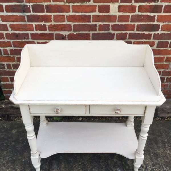 Mid Victorian Painted Pine Washstand
