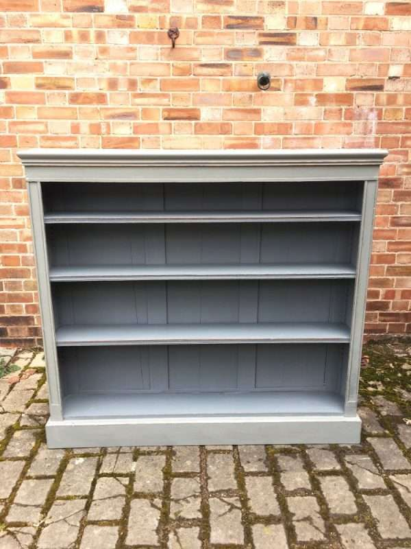 Late Victorian Painted Oak Adjustable Bookshelves SOLD- Ref:1268