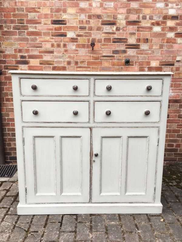 Mid Victorian Painted Pine Harness Room Cupboard SOLD- Ref:1275