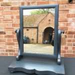 Victorian Painted Mahogany Swing Mirror SOLD- Ref:1277