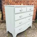 Regency Painted Mahogany Chest Of Drawers SOLD – Ref:1281