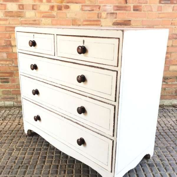 Regency Painted mahogany Chest Of Drawers1