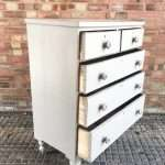 Late Victorian Painted Mahogany Chest Of Drawers SOLD – Ref:1291