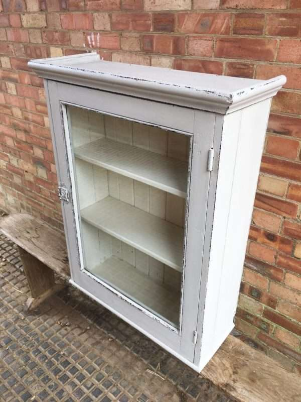 Edwardian Painted Pine Wall Cabinet SOLD- Ref:1287