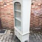 Late Victorian Painted Mahogany Glazed Cabinet SOLD – Ref:1085