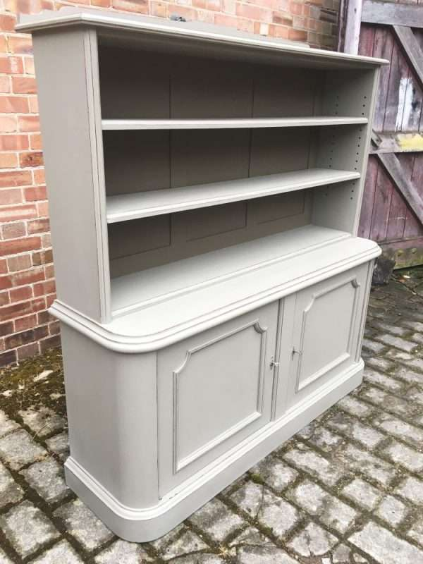 Mid Victorian Painted Mahogany 2 Part Bookcase SOLD- Ref:1294
