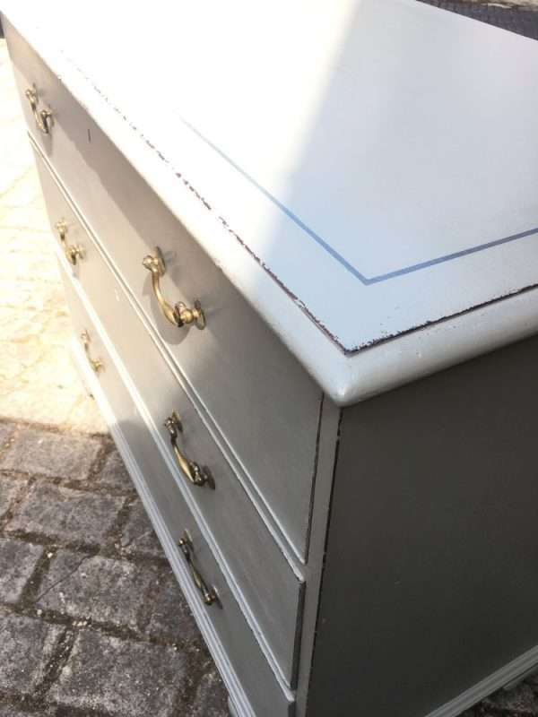 Georgian Painted Mahogany Chest Of Drawers SOLD  – Ref:1295