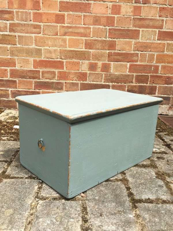 Mid Victorian Painted Pine Box SOLD  – Ref:1297