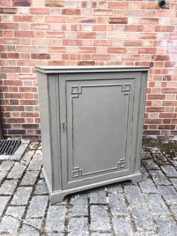 Edwardian Painted Mahogany Cupboard SOLD – Ref:1299