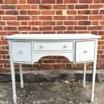 Edwardian Painted Mahogany Dressing Table  SOLD – Ref:1308