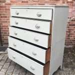 Regency Painted Mahogany 5 Drawer Chest SOLD – Ref:1313