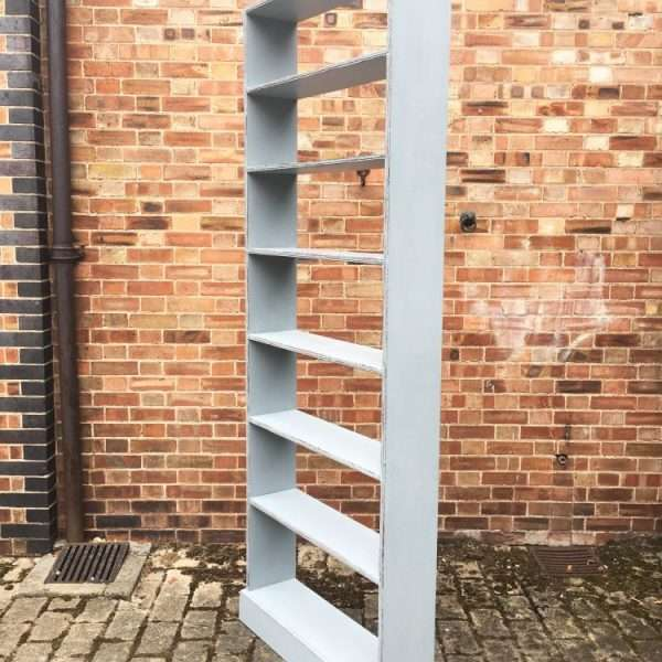 Late Victorian Painted Pine Tall Shelves2