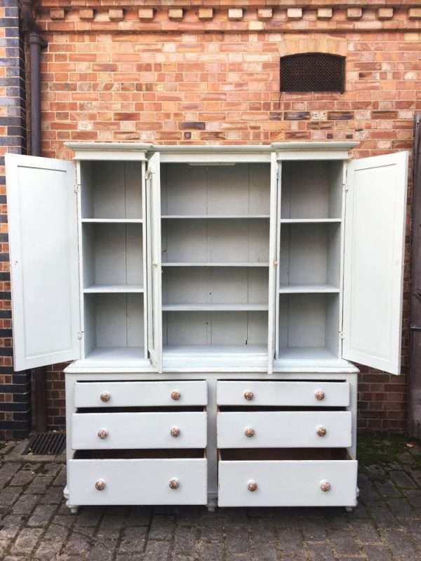 Mid Victorian Painted Pine Dresser SOLD – Ref:1316