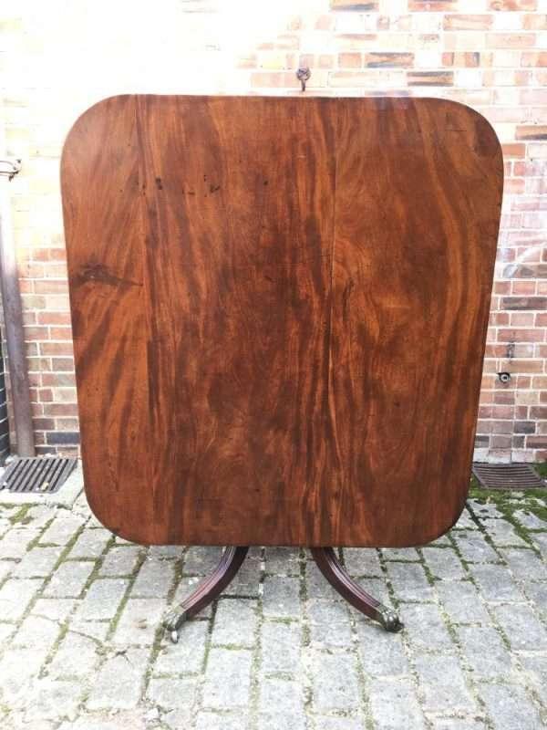 George III Mahogany Breakfast Table SOLD- Ref:1317