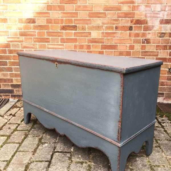 Regency Painted Pine Blanket Box