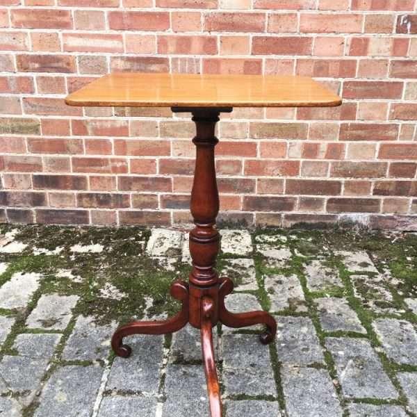 William IV Mahogany Tripod Table4