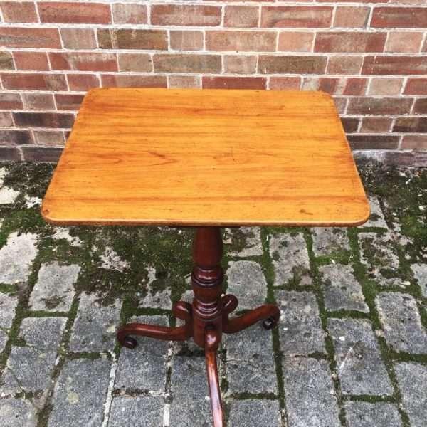 William IV Mahogany Tripod Table3