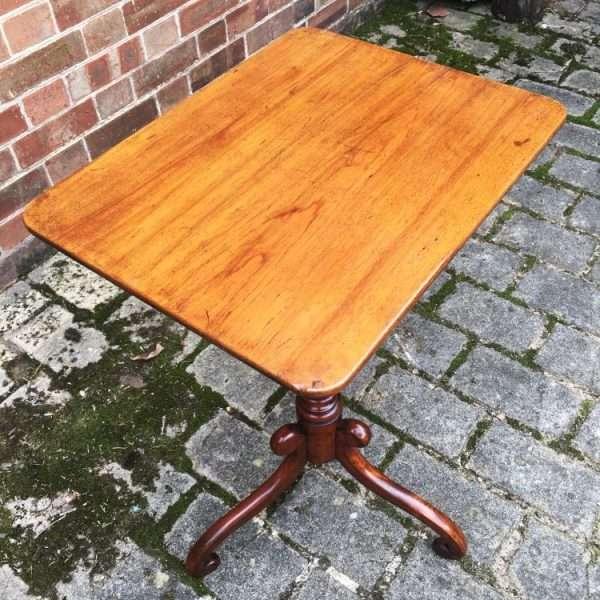 William IV Mahogany Tripod Table