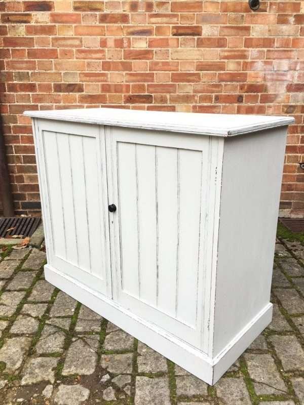 Edwardian Painted Walnut Cupboard SOLD – Ref:1324