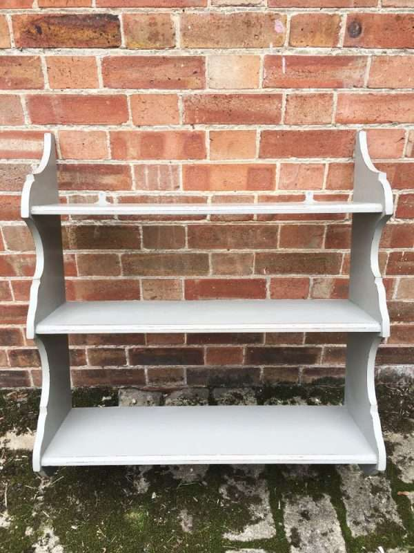 Edwardian Painted Mahogany Hanging Shelves SOLD – Ref:1327