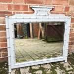 Late 19th Century Faux Bamboo Wall Mirror SOLD – Ref:1329