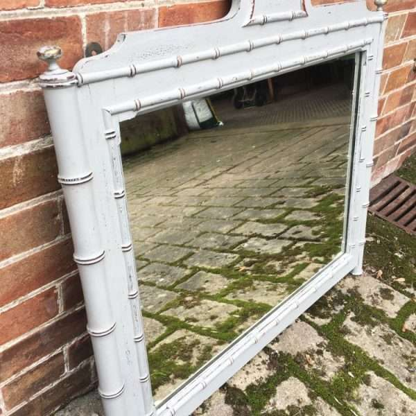 Late 19th Century Faux Bamboo Wall Mirror4