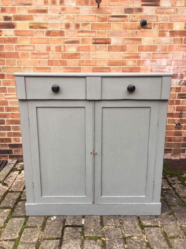Early Victorian 2 Door Cupboard5