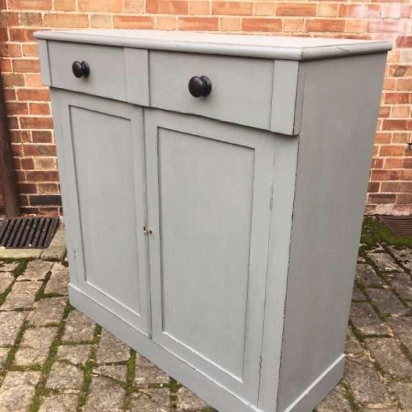 Early Victorian 2 Door Cupboard2
